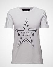 Raiine Paso T-Shirt T-shirts & Tops Short-sleeved Hvit RAIINE