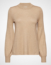 Lexington Clothing Sadie Cotton Bamboo Sweater Strikket Genser Beige LEXINGTON CLOTHING