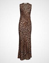 Rabens Saloner Jungle Print Dress Maxikjole Festkjole Brun RABENS SAL R