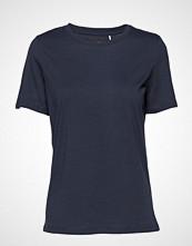 Minimum Kimma T-shirts & Tops Short-sleeved Blå MINIMUM