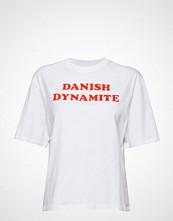 Hummel Hive Hmlava T-Shirt S/S T-shirts & Tops Short-sleeved Hvit HUMMEL HIVE