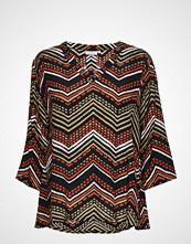 Masai Bahati Top Bluse Langermet Multi/mønstret MASAI