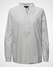 Soft Rebels Nice Shirt Langermet Skjorte Hvit SOFT REBELS
