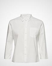 Hope Zand Shirt Langermet Skjorte Hvit HOPE