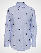 Kenzo Shirt Main Langermet Skjorte Blå KENZO