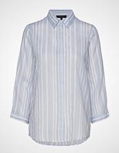 Soft Rebels Nuka Shirt Langermet Skjorte Blå SOFT REBELS