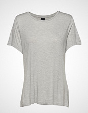 Gina Tricot Elin Top T-shirts & Tops Short-sleeved Grå GINA TRICOT