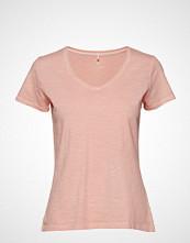 Gant O2. Sunbleached Ss T-Shirt T-shirts & Tops Short-sleeved Rosa GANT