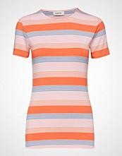 Modström Owl Stripe T-Shirt T-shirts & Tops Short-sleeved Multi/mønstret MODSTRÖM