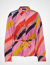 Stine Goya Faith, 568 Parallels Silk Bluse Langermet Multi/mønstret STINE GOYA