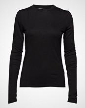 Holzweiler Warped Top T-shirts & Tops Long-sleeved Svart HOLZWEILER