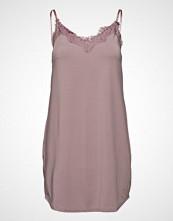Coster Copenhagen Strap Dress W. Lace Kort Kjole Hvit COSTER COPENHAGEN