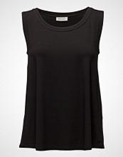 Masai Elisa Top A-Shape N/S Basic T-shirts & Tops Sleeveless Svart MASAI