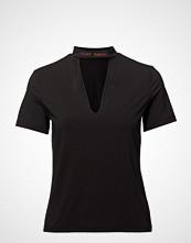 Cheap Monday Deep Top Hacker Stamp T-shirts & Tops Short-sleeved Svart CHEAP MONDAY