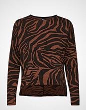 Gina Tricot Alma Top T-shirts & Tops Long-sleeved Brun GINA TRICOT