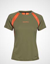 Newline Black Feather Tee T-shirts & Tops Short-sleeved Grønn NEWLINE