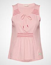 Odd Molly Groove Romance Top T-shirts & Tops Sleeveless Rosa ODD MOLLY
