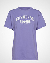 Converse All Star Relaxed Tee T-shirts & Tops Short-sleeved Lilla CONVERSE