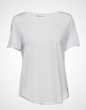 Coster Copenhagen T-Shirt W. Short Sleeve T-shirts & Tops Short-sleeved Hvit COSTER COPENHAGEN