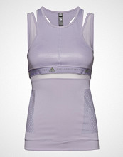 Adidas by Stella McCartney Run Tank T-shirts & Tops Sleeveless Lilla Adidas By Stella McCartney