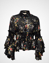 by Ti Mo Semi Couture Flared Shirt Bluse Langermet Svart BY TI MO