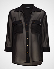 Marciano by GUESS Charlotte Shirt Bluse Langermet Svart MARCIANO BY GUESS