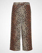 2nd One Eloise 442 Crop, Leopard, Pants Vide Bukser Multi/mønstret 2ND