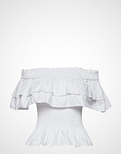 By Malina Idalia Top T-shirts & Tops Short-sleeved Hvit BY MALINA