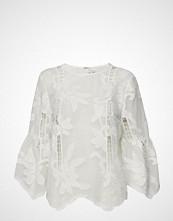 By Malina Hiba Blouse Bluse Langermet Hvit BY MALINA