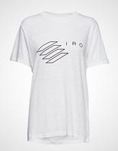 Iro Lucie T-shirts & Tops Short-sleeved Hvit IRO