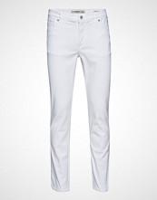 Mango Man Slim-Fit White Jan Jeans Slim Jeans Hvit MANGO MAN