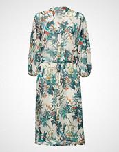 B.Young Byfloreance Flower Dress - Knelang Kjole Blå B.YOUNG