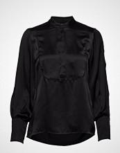 Bruuns Bazaar Becca Electra Shirt Bluse Langermet Svart BRUUNS BAZAAR