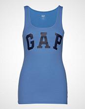 GAP V-Logo Sl Bf Tank T-shirts & Tops Sleeveless Blå GAP