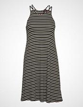 Superdry Willis Stripe Swing Dress Kort Kjole Svart SUPERDRY