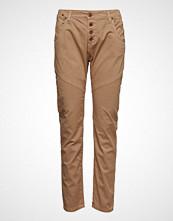 Please Jeans Retro Old Classic Cotton Slim Jeans Beige PLEASE JEANS