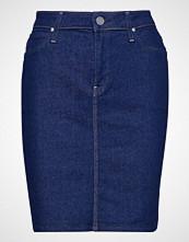 Lee Jeans Pencil Skirt Kort Skjørt Blå LEE JEANS