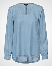 Marc O'Polo Shirts/Blouses Long Sleeve Bluse Langermet Blå MARC O'POLO