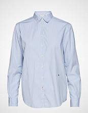 Tommy Hilfiger Monica Shirt Ls W3, Langermet Skjorte Blå TOMMY HILFIGER