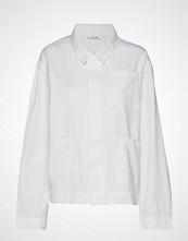 nué notes Flo Shirt Langermet Skjorte Hvit NUÉ NOTES