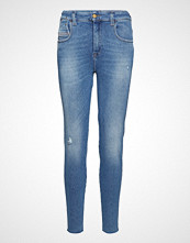 Diesel Women Slandy-High Trousers Skinny Jeans Blå DIESEL WOMEN