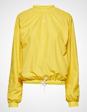 Hummel Hive Hmlanja Sweatshirt T-shirts & Tops Long-sleeved Gul HUMMEL HIVE