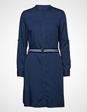 Marc O'Polo Dress, Belt Detail Kort Kjole Blå MARC O'POLO