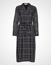 Whyred Ana Dress Geometric Knelang Kjole Svart WHYRED