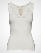 Odd Molly Rib-Eye Tank T-shirts & Tops Sleeveless Creme ODD MOLLY