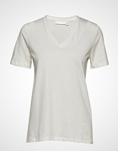 InWear Kaila V-Neck T-Shirt T-shirts & Tops Short-sleeved Hvit INWEAR