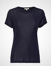 Dagmar Upama T-shirts & Tops Short-sleeved Blå DAGMAR