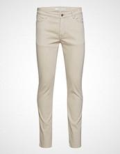Mango Man Beige Color Slim-Fit Patrick Jeans Slim Jeans Creme MANGO MAN