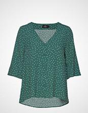 Morris Lady DéLia Blouse Bluse Kortermet Grønn MORRIS LADY