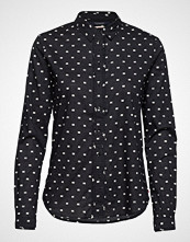 Scotch & Soda Classic Long Sleeve Shirt With All Over Print Langermet Skjorte Svart SCOTCH & SODA